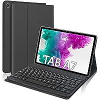 """DINGRICH Funda Teclado para Samsung Galaxy Tab A7 10.4"""" 2020, Español Ñ Teclado Bluetooth Inalámbrico Extraíble…"""
