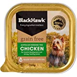 Black Hawk Wet Dog Food, Grain Free Chicken, 100gm