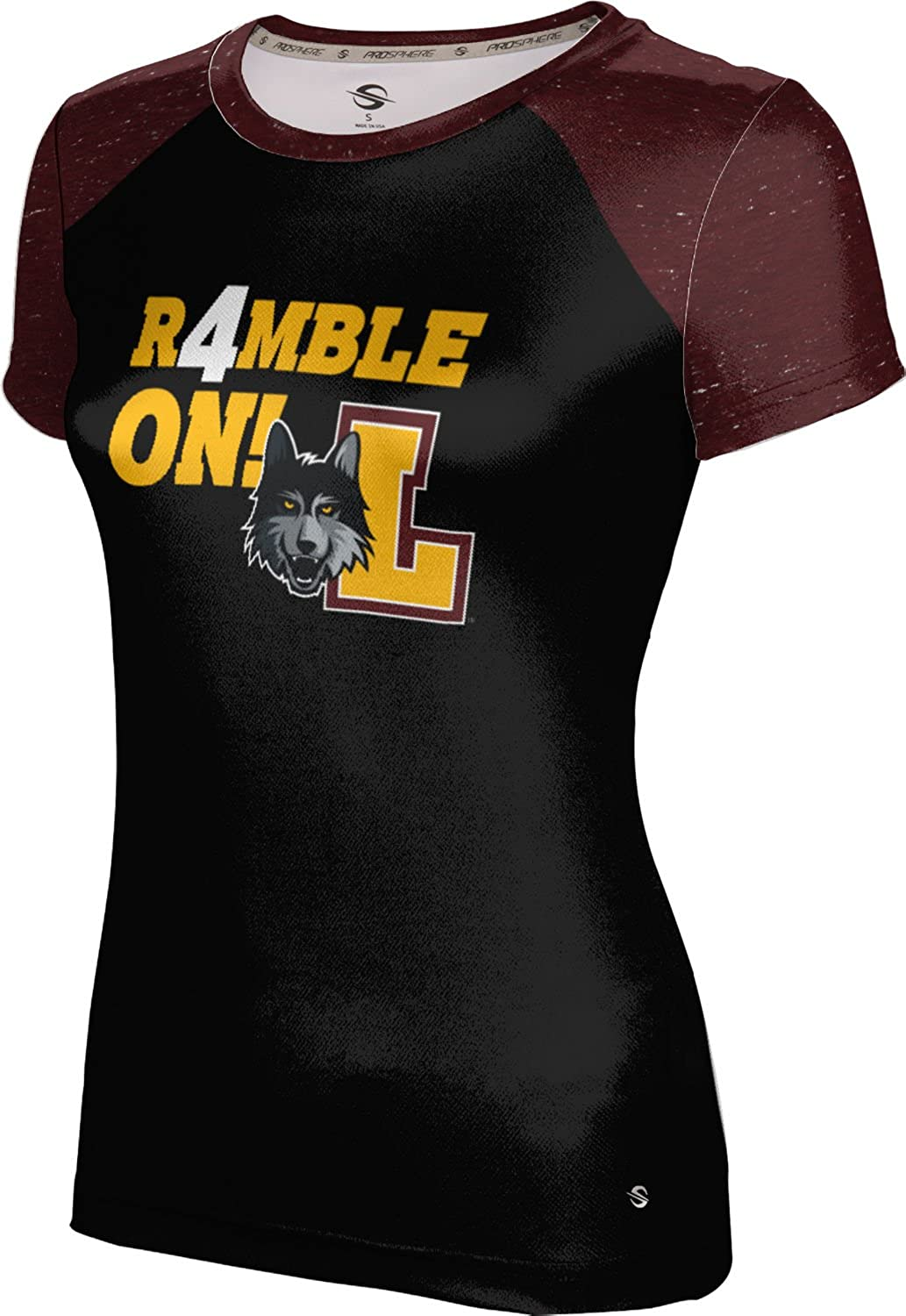 Loyola Chicago March Basketball March Basketball Final Girls Performance T-Shirt Raglan
