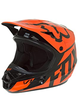 Fox V1 Race – Casco Naranja Talla XL