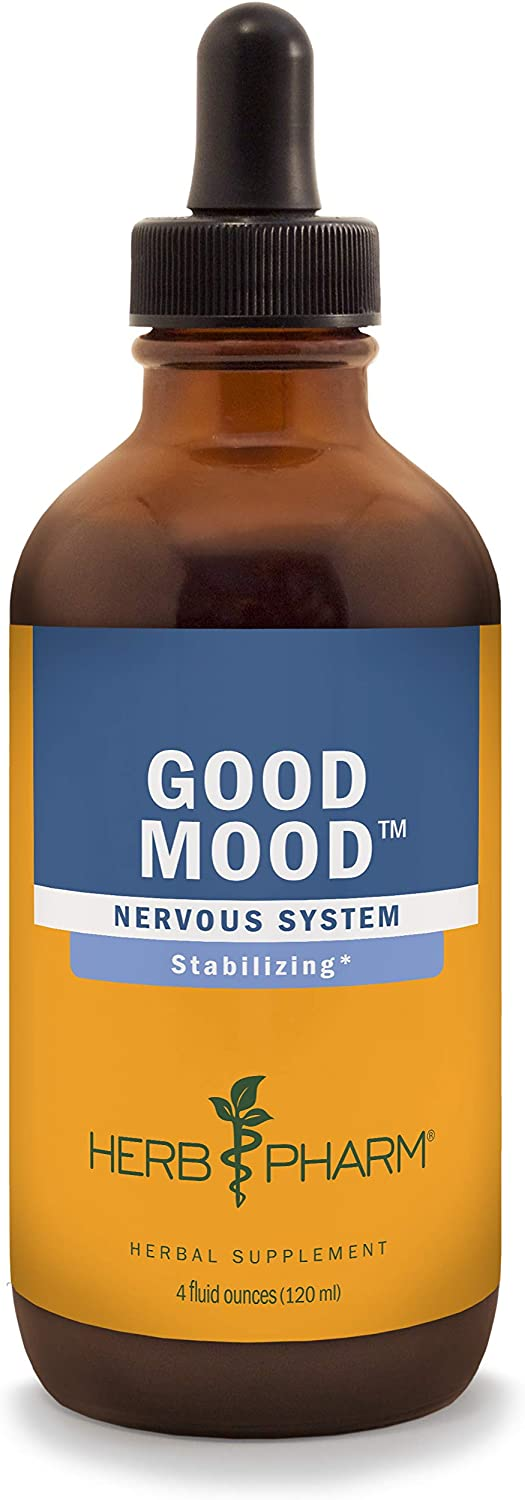 Herb Pharm Good Mood Liquid Herbal Formula with St. John s Wort for Healthy Emotional Balance – 4 Ounce