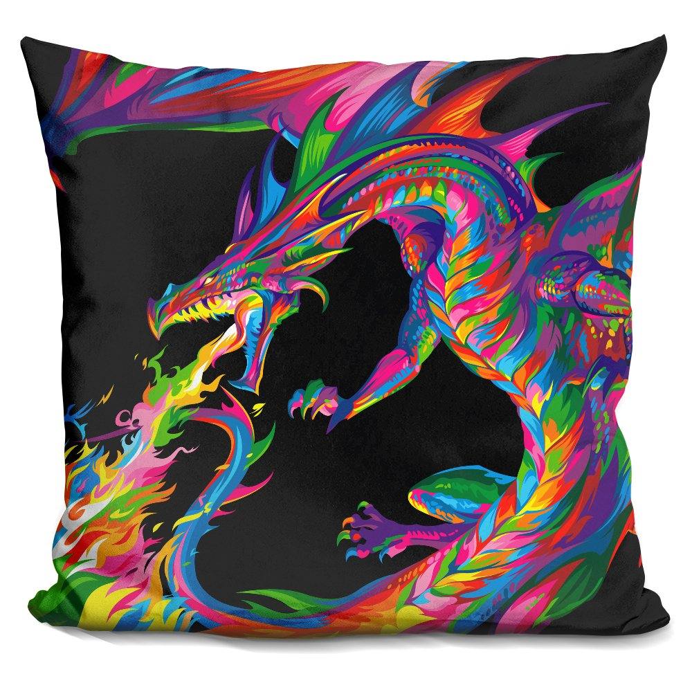LiLiPiFantasy Dragon Decorative Accent Throw Pillow