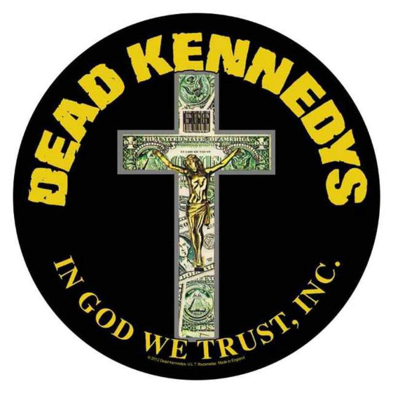 Dead Kennedys In God We Trust R/ückenaufn/äher