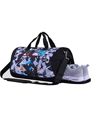 1c4b7b1ad00 CoCoMall Sports Gym Bag with Shoes Compartment and Wet Pocket, Travel  Duffle Bag for Men