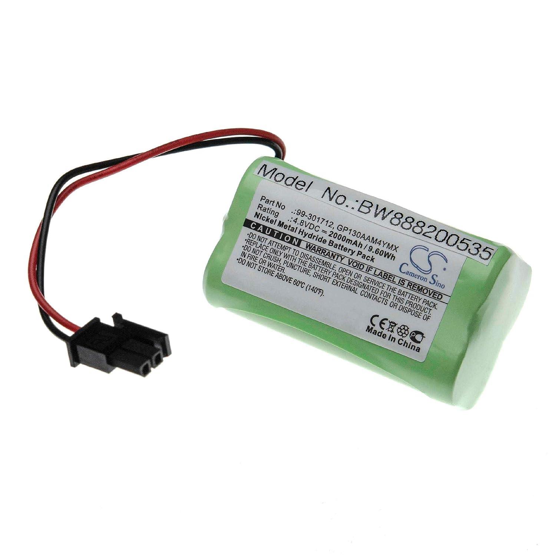 vhbw batería sustituido Visonic 99-301712, GP130AAM4YMX para ...
