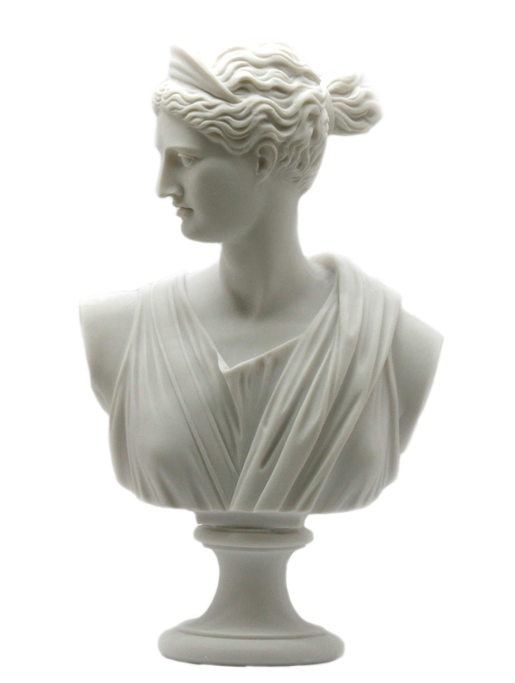 greekartshop Artemis Diana Bust Head Greek Roman Goddess Statue Sculpture 11.8΄΄