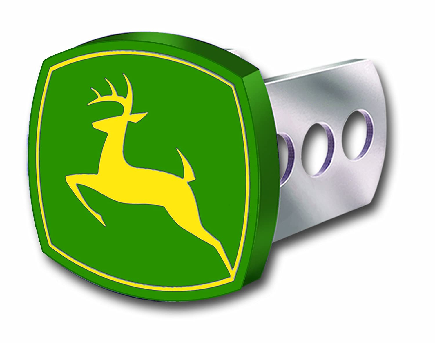 Plasticolor 002232R01 Full Color John Deere Hitch Cover