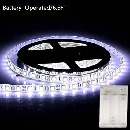 Amazoncom Battery Operated Led Strip Lights66ft2m Length 120