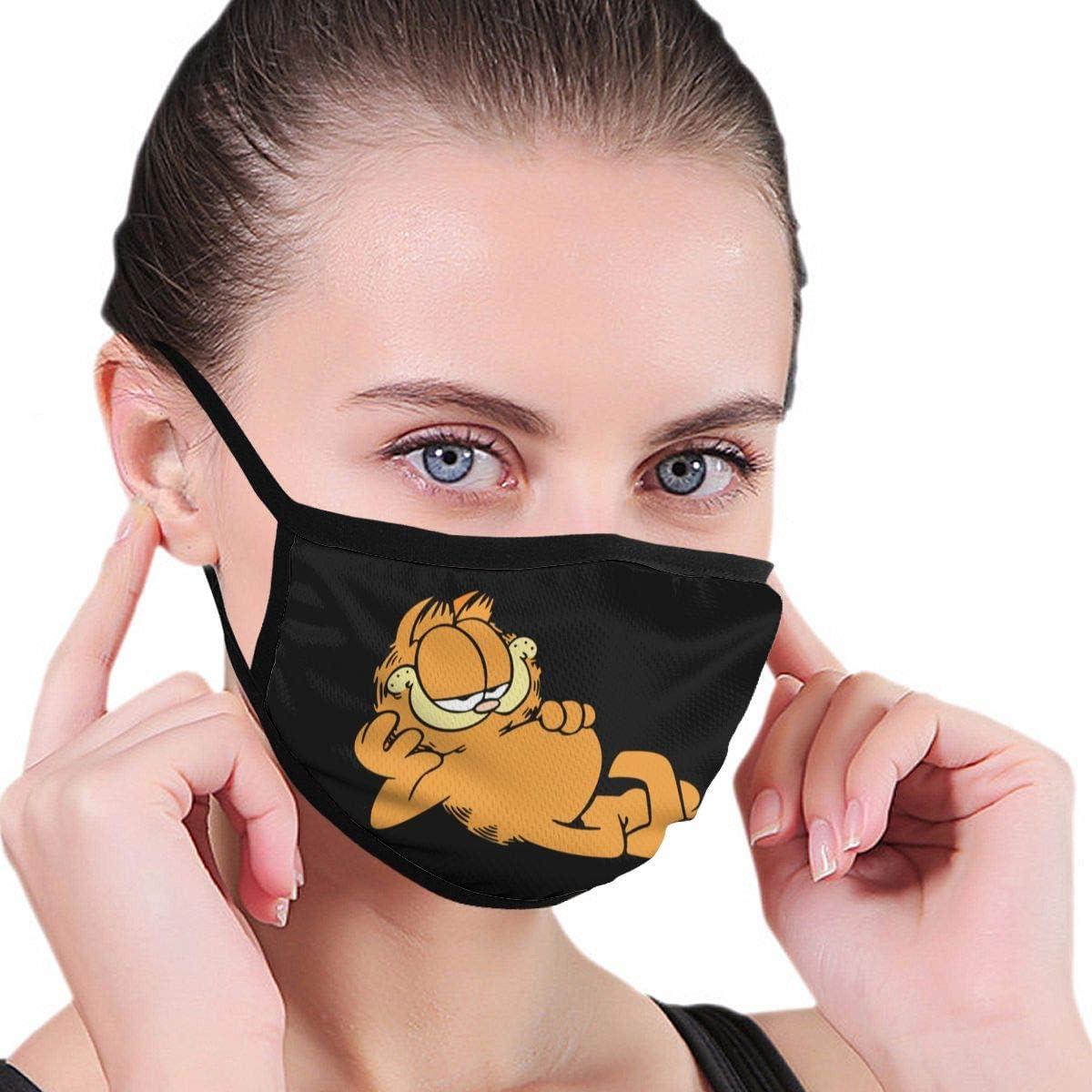 reutilizable resistente al polvo bandana para la cara Pa/ñuelo de cuello sin costuras Lncsdk Aeuv Garfield