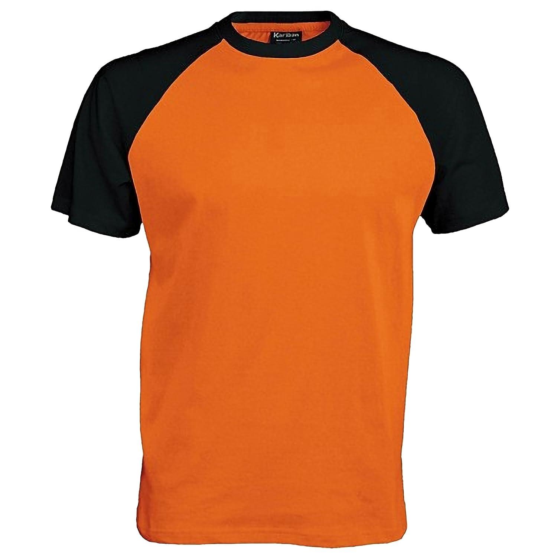 Kariban - Camiseta 2 colores modelos Beísbol Baseball de manga corta para  hombre - 100% Algodón  Amazon.es  Ropa y accesorios 4b51595339b