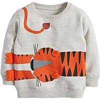Reliaseren Bebé Niño Sudadera Niños Algodón Superior Puente Camiseta Linda De Manga Larga Niños Ropa De Niño Edad 1 2 3…