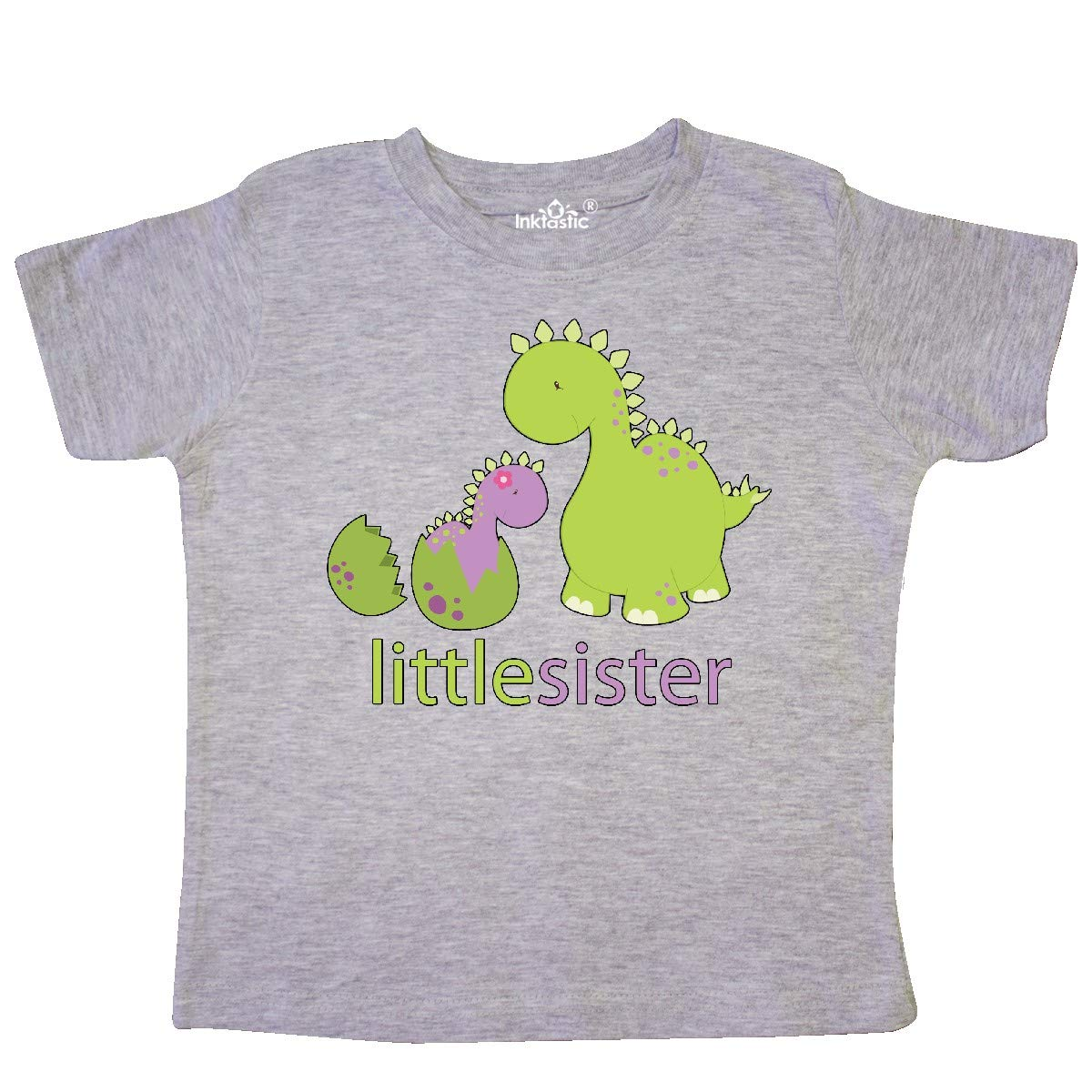 inktastic Little Sister Purple Toddler T-Shirt