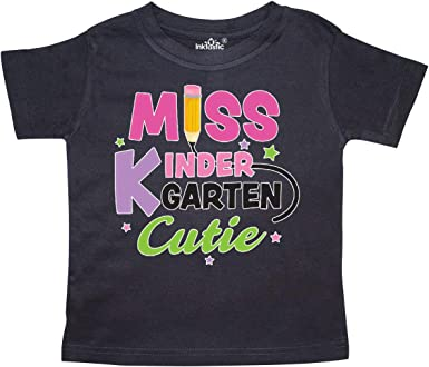 inktastic School Miss 1st Grade Cutie Toddler Long Sleeve T-Shirt