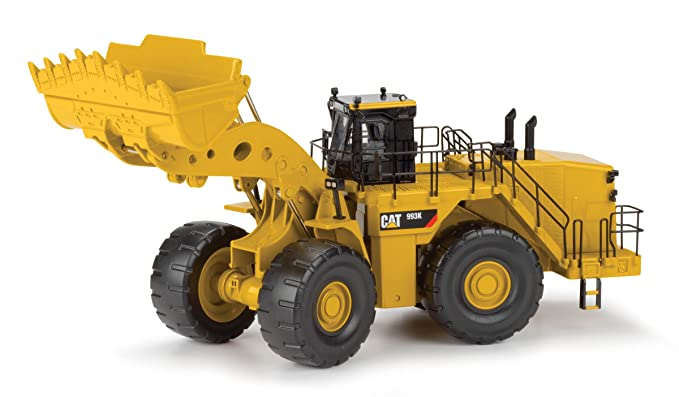 Norscot Cat 993K Wheel Loader (1:50 Scale), Caterpillar Yellow
