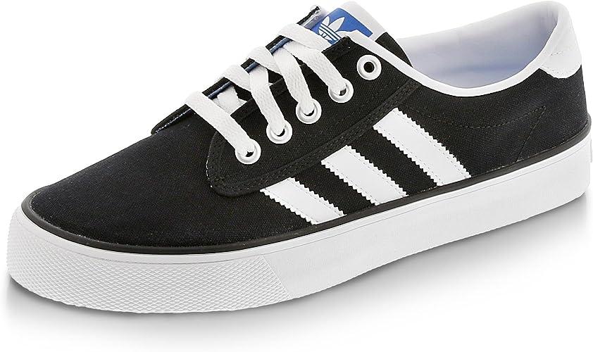 Aspirar Cubo Hacia arriba  adidas Originals Kiel – Skateboarding Shoes Man Size: 7.5 UK Black White:  Amazon.co.uk: Shoes & Bags