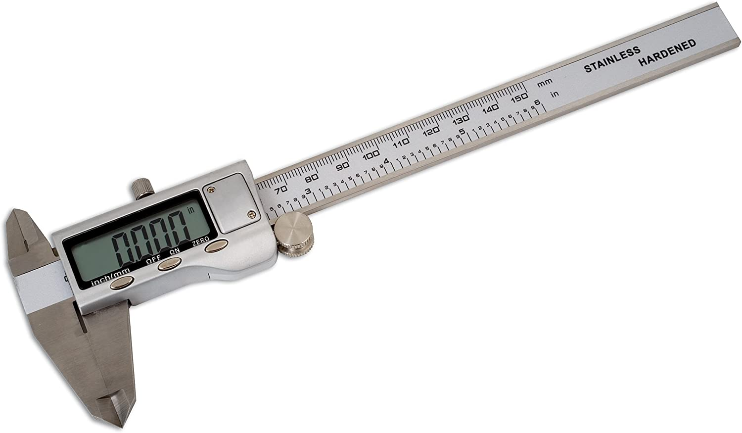 Stainless Steel Jewelry Measuring Tool for Mechanic Diameter Digital Caliper Vernier Caliper with Fractions//Inch//Metric Conversion Electronic Caliper 0-150mm//9.3 Inch Digital Vernier Caliper