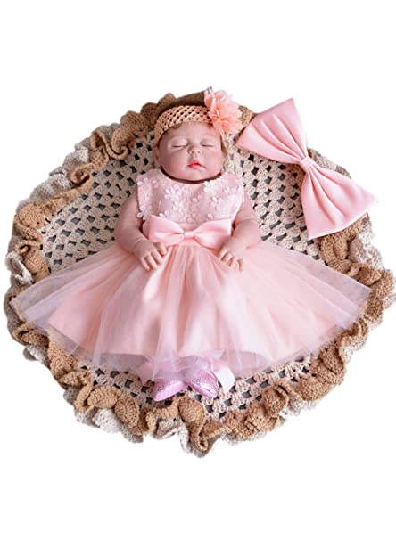 c1a1ce1dff08 Amazon.com  Sisjuly Baby Lace Christening Apparel Wedding Party ...