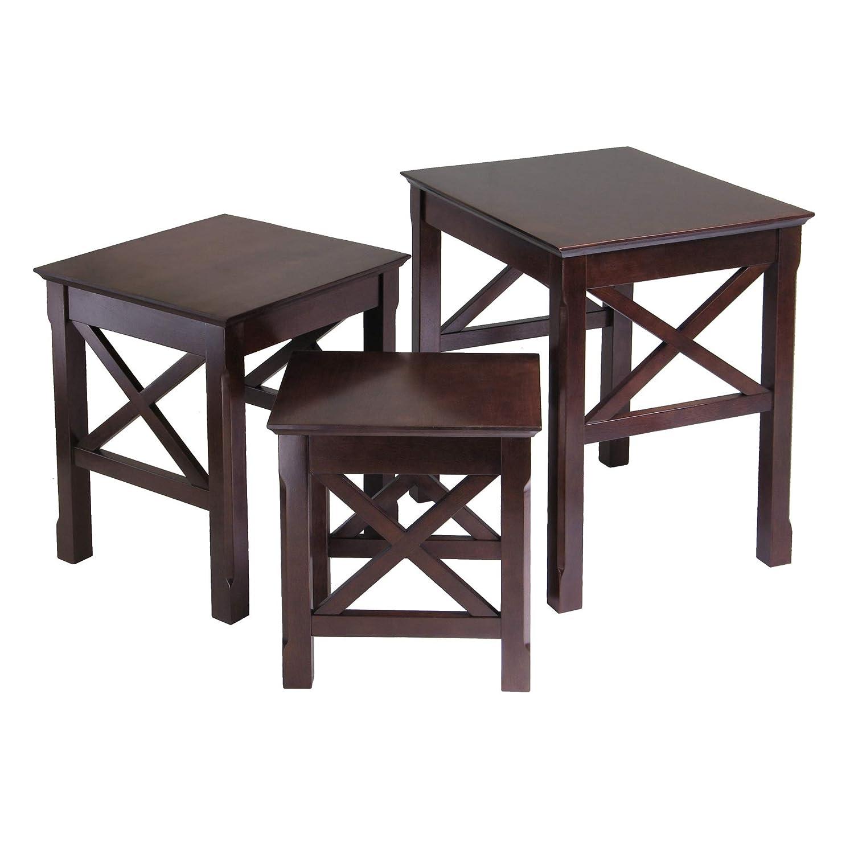 3-Piece Winsome Wood Xola Nesting Table