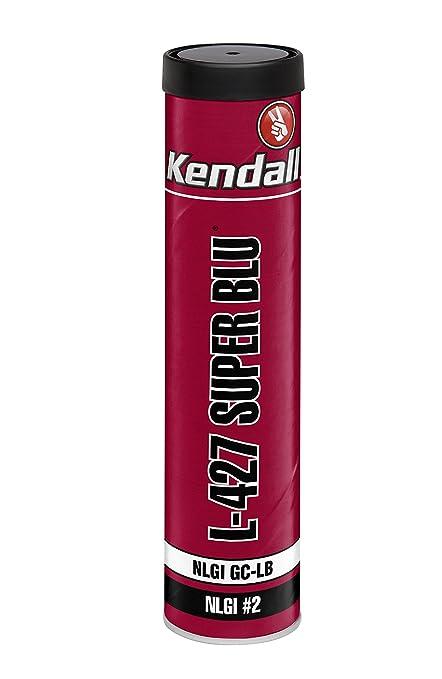 Kendall 1073835 1 Pack Lithium Complex Grease (L-427 Super Blu Multipurpose  Extreme-Pressure-14 OZ)