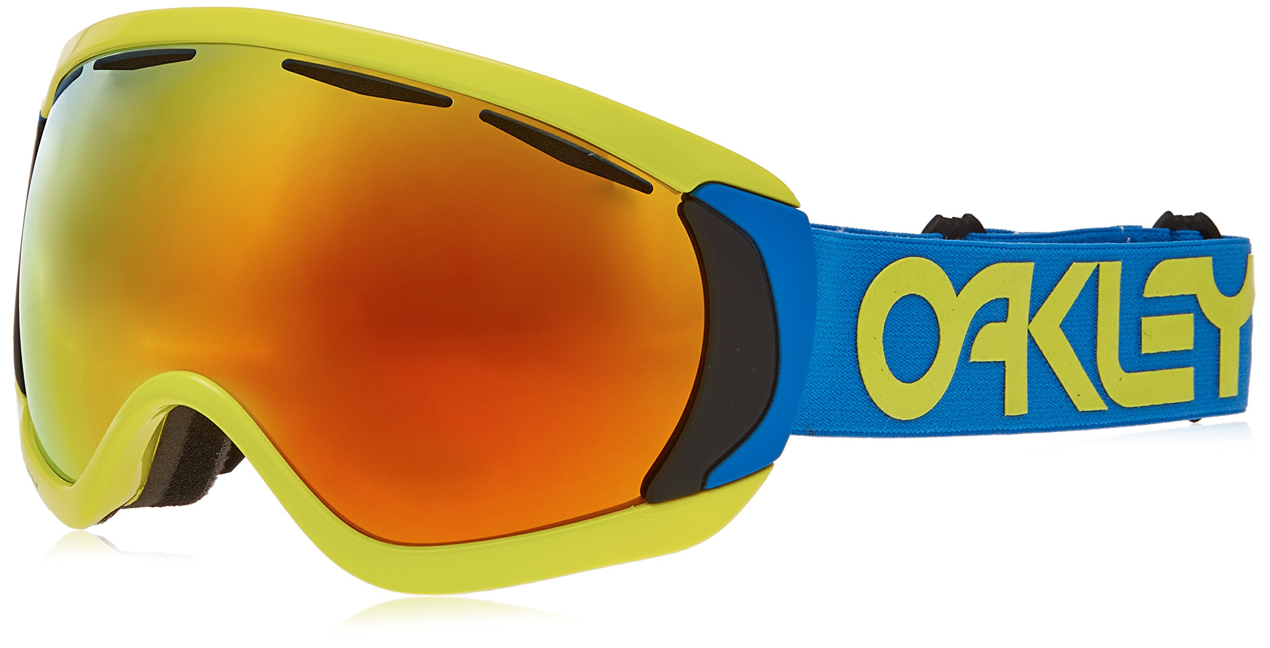 Oakley OO7047-14 Canopy Eyewear, Factory Pilot Retina Blue, Fire Iridium Lens by Oakley