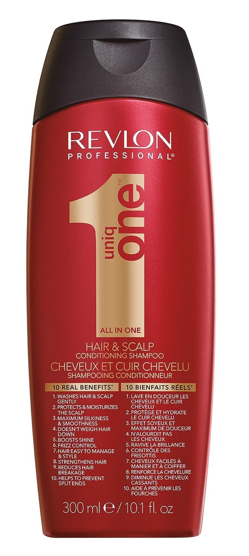REVLON PROFESSIONAL Uniq One Shampoo Anti Frizz für Glänzendes Haar, 300 ml 18650