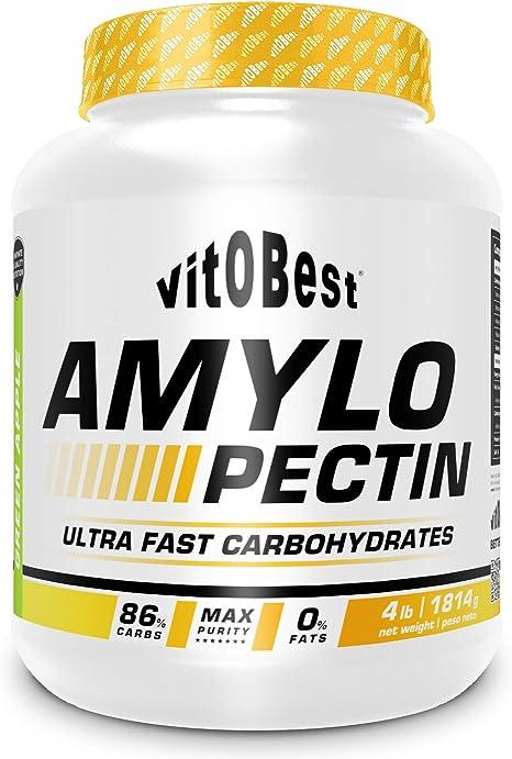 Amilopectina AMYLOPECTIN 4 lb - Suplementos Alimentación y Suplementos Deportivos - Vitobest (Manzana Verde)