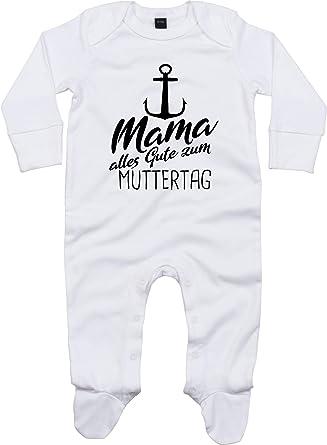 Pijama para bebé de Kleckerliese, de manga larga, con frases ...