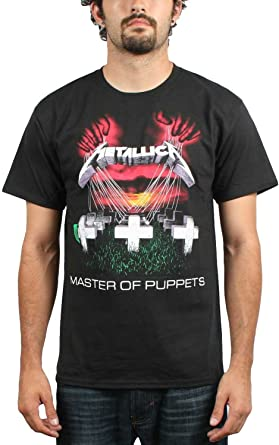 Old Glory – Metallica – para hombre Master Of Puppets Camiseta: Amazon.es: Libros