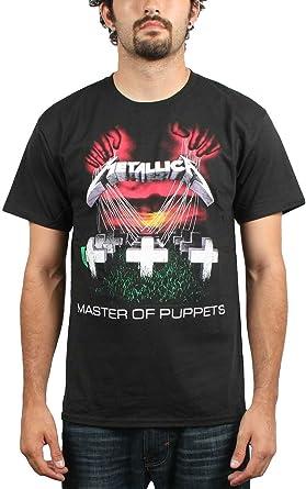 Metallica T shirt; Metallica Master Of Puppets Tee Shirt