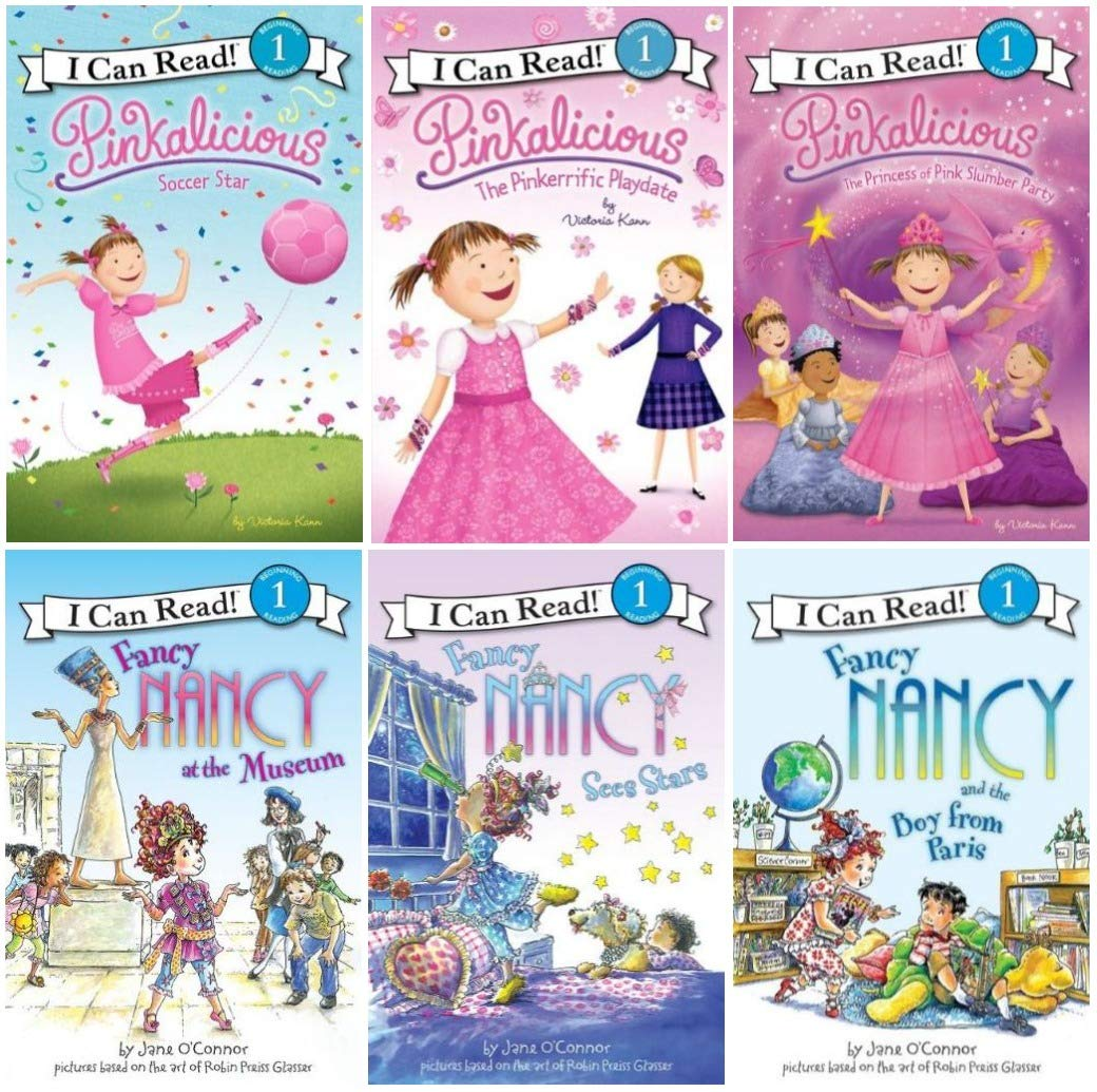 I Can Read Fancy Nancy And Pinkalicious Children S Book World