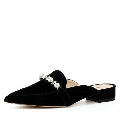 Evita Shoes Franca Damen Pantolette Rauleder Schwarz 35 mr2lXIsIs