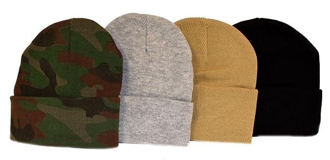 a2457432d9b Florida Hat Company Holiday Deals! 4 Knit Beanies Camo
