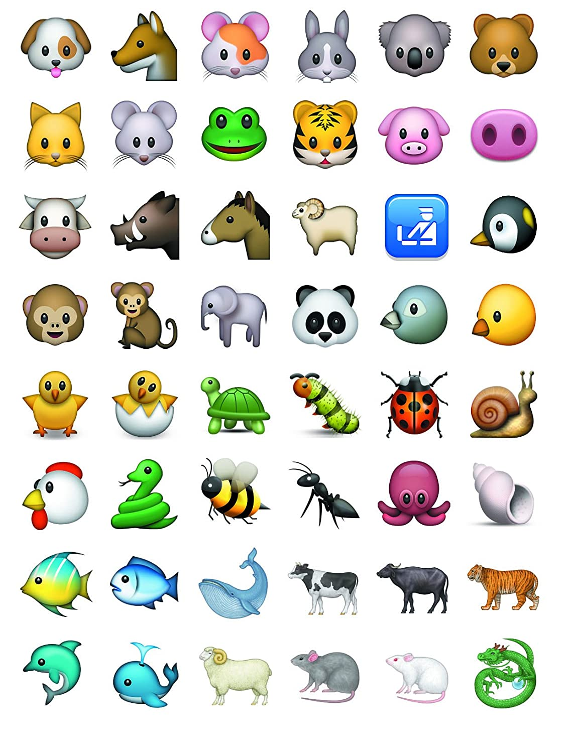 Emoji Jumbo Stickers 960 Most Popular Emoticons Larger In Size Educational and Fun Cool
