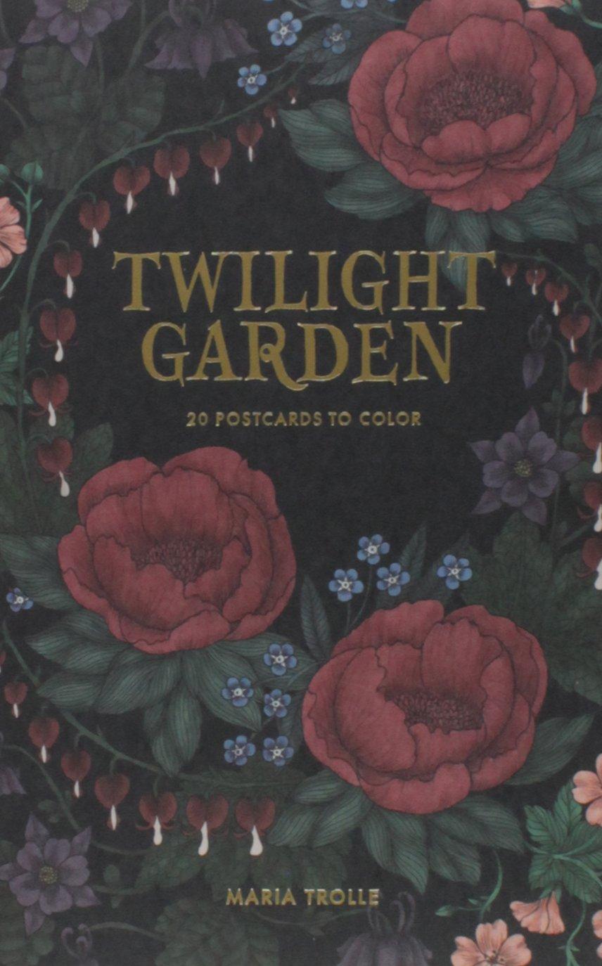 """Twilight Garden 20 Postcards: Published in Sweden as """"Blomstermandala"""" pdf"""