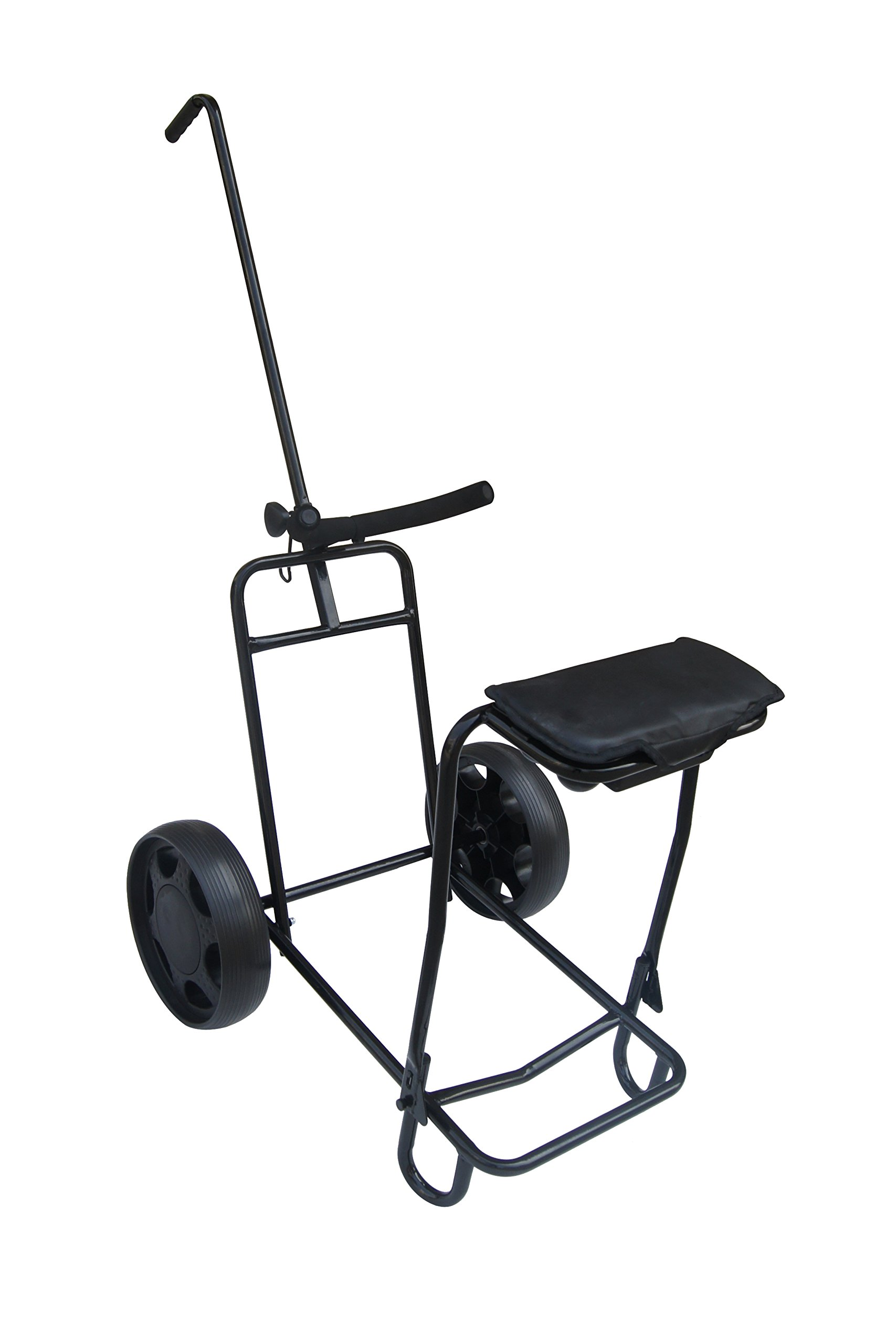 Tilt 2 Wheel Pull Cart with Seat by Founders Club