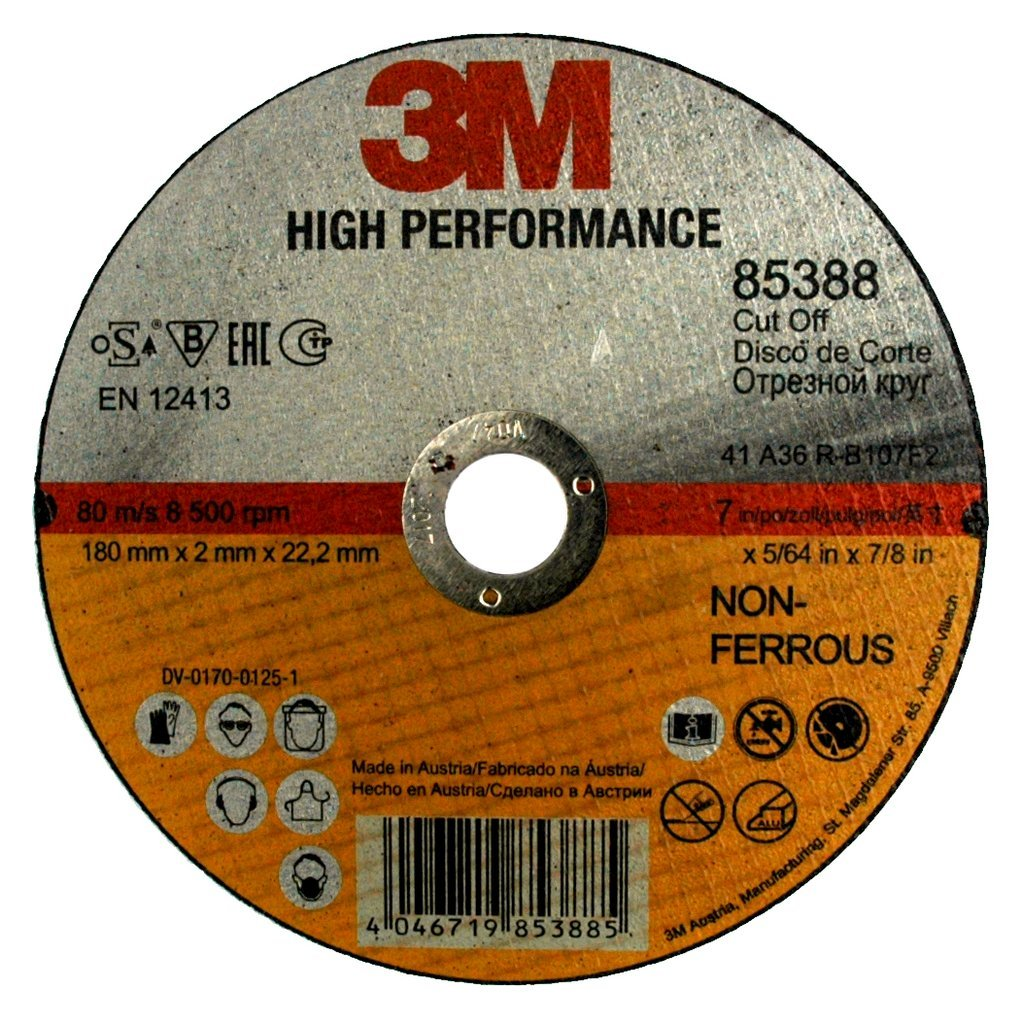 22,23/ mm 3/ M 85359/ Disque /à tron/çonner haute performance 1,6/ mm 115/ mm Type 41 Lot de 25 Steel