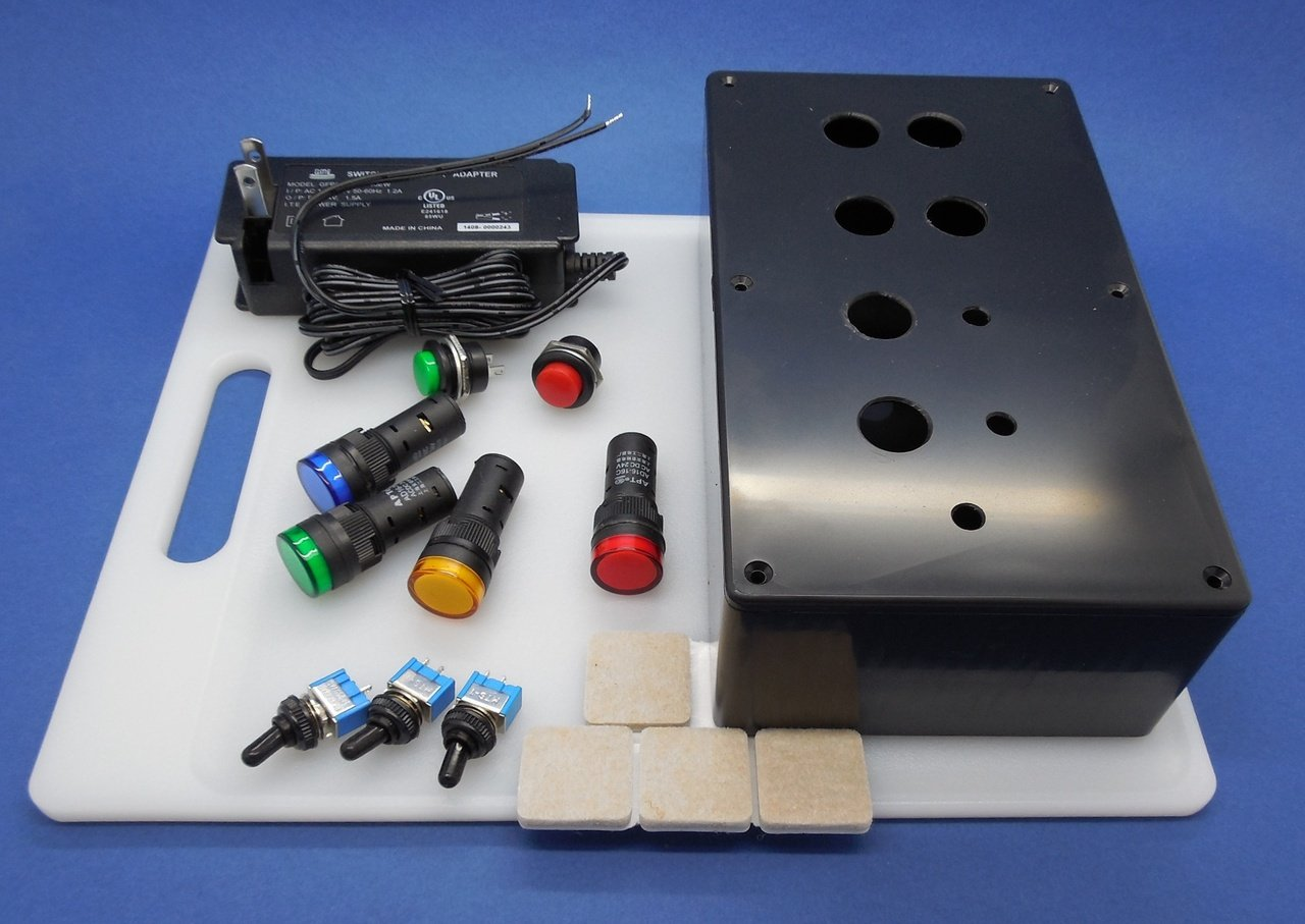 4 INPUTS OUTPUTS COMPLETE DO IT YOURSELF PLC TRAINER KIT ~ BUILD