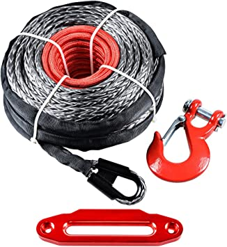 Astra Depot 10 High-Grade CNC Billet Aluminum Hawse Fairlead 8000-15000 LBs Winch Rope Cable