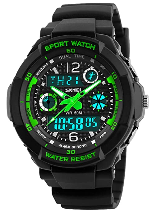 Best Waterproof Digital Boys Watches Reviews - Magazine cover