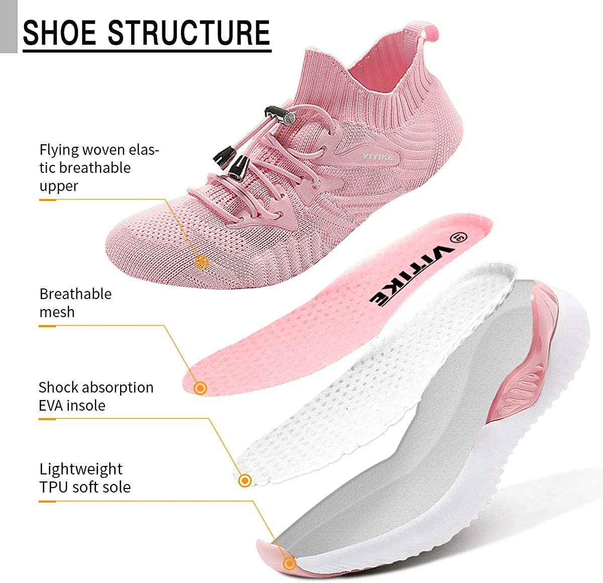 Gar/çon Fille Chaussures de Course Tennis Sneakers Femme Walking Shoes Baskets Mode Mixte Enfant Running Sneakers