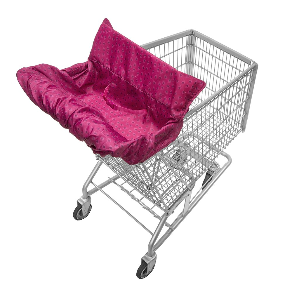 Infantino Fold Away Cart Cover, Pink