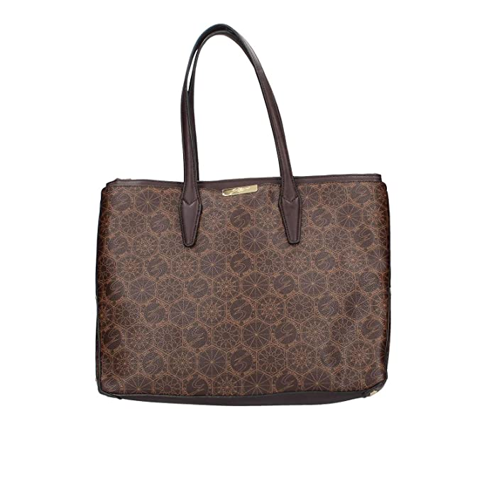 ff2fab8293 GATTINONI ROMA BORSA DONNA BROWN Dimensioni :36x13x30 cm: Amazon.it:  Abbigliamento
