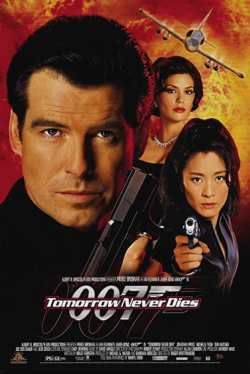 Image result for tomorrow never dies poster