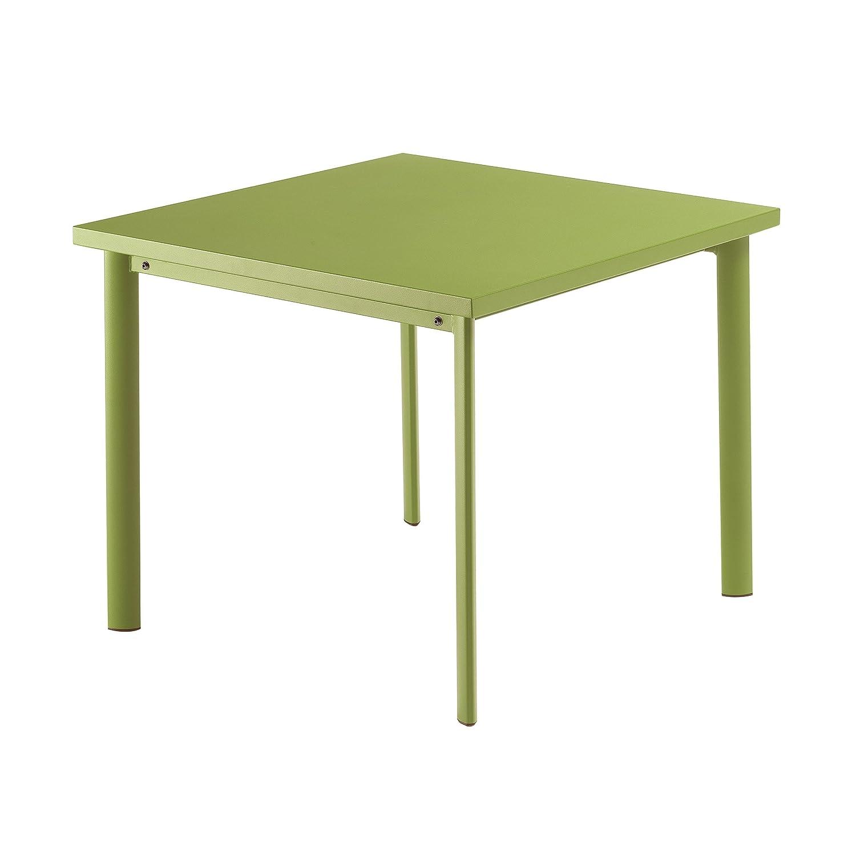 Star Tisch quadratisch 90 x 90 cm - grün