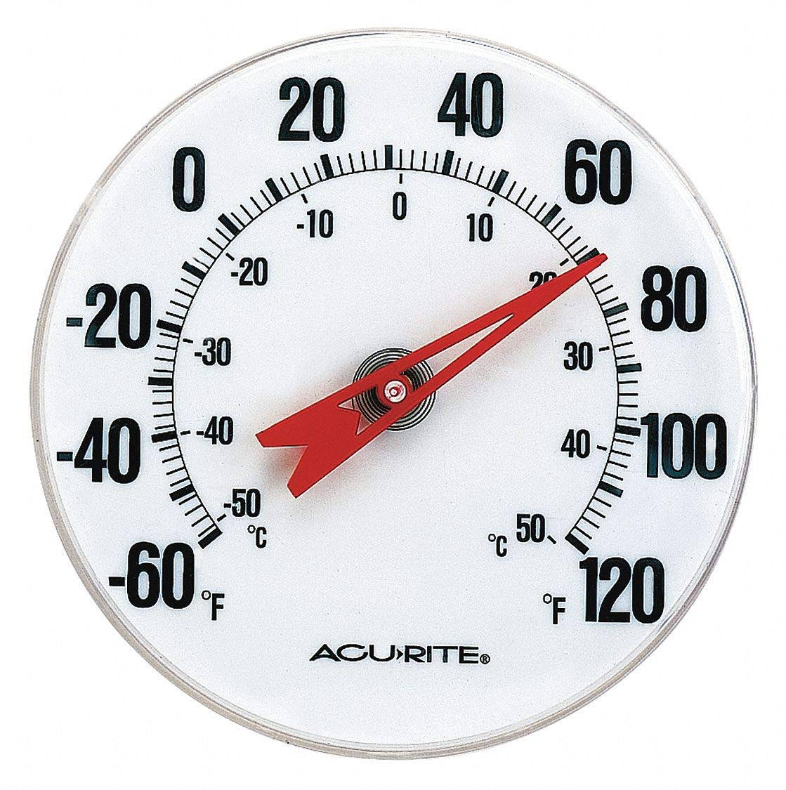 5 Dial Size Analog Thermometer