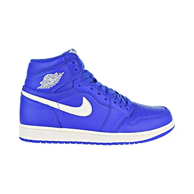 Jordan Nike Men's Air 1 Retro High OG Hyper Royal/Sail 555088-401 (Size: 12)