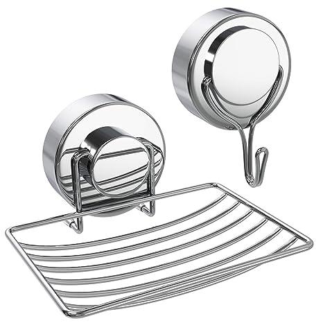 Amazon.com: Attmu 3 unidades de cesta de ducha, fuerte ...