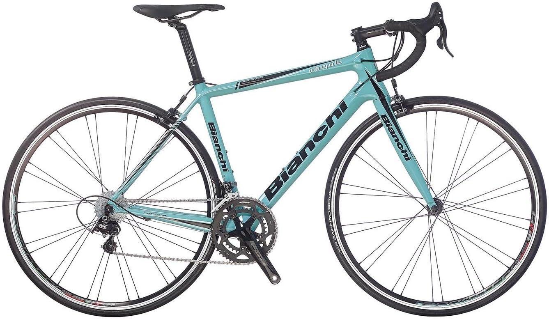 Bicicleta de carreras Bianchi Intrepida Campagnolo Veloce 10 v. 54 ...