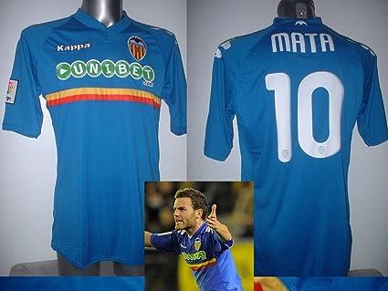 Kappa Valencia Adultos XL Juan Mata del Manchester United Camiseta de fútbol Jersey Ciclismo Camiseta Man