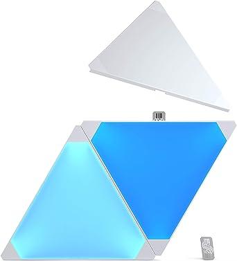 Nanoleaf Aurora Expansion Pack - Paneles modulares de iluminación inteligentes, color blanco: Amazon.es: Iluminación